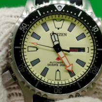 Citizen Promaster Marine Steel 42mm No numerals United States of America, California, Victorville