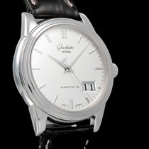 Glashütte Original Steel Automatic 39mm pre-owned Senator Panorama Date