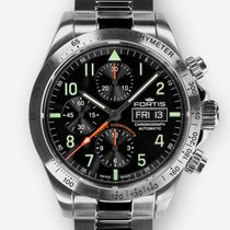Fortis 401.21.11M New Steel 42mm Automatic