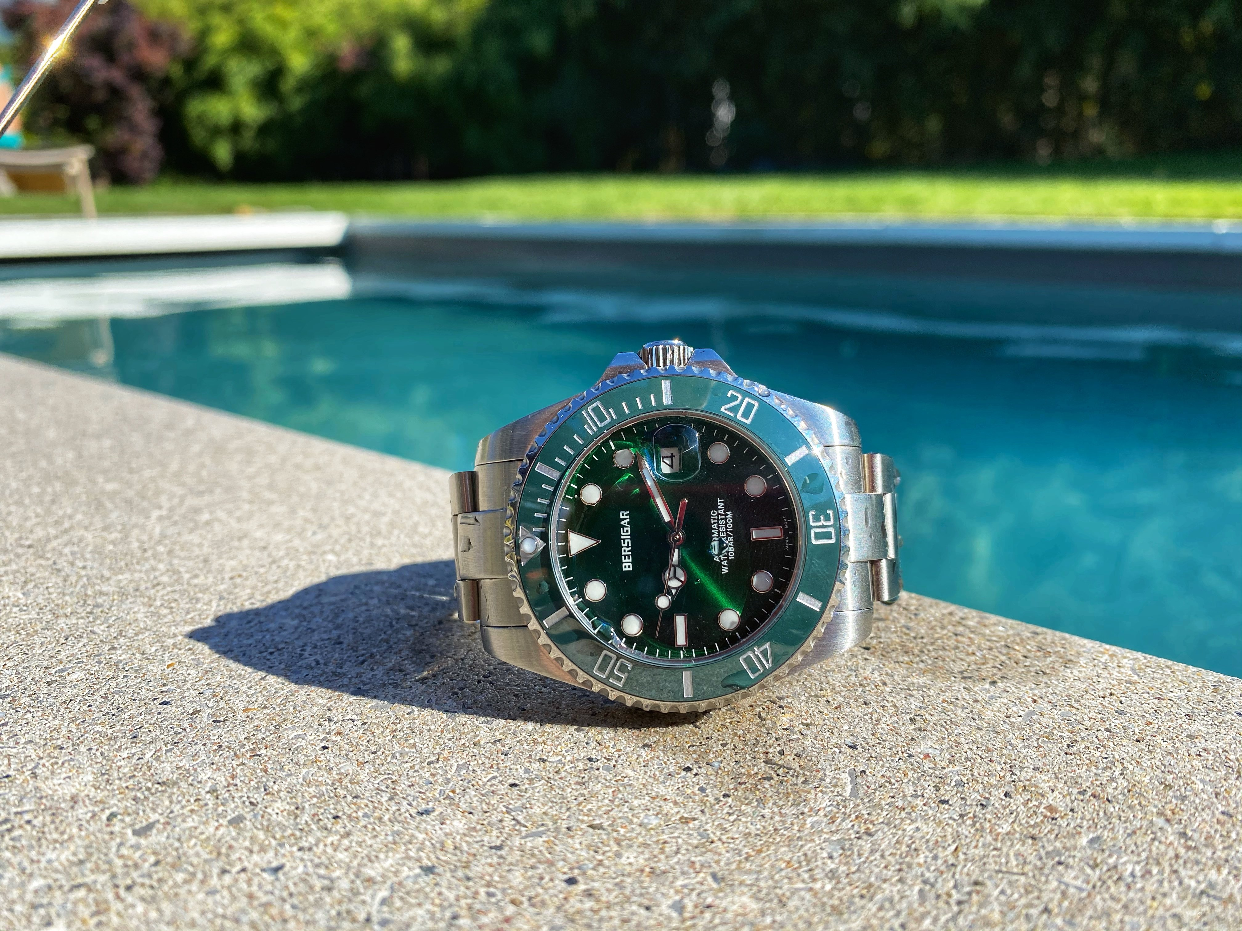 Bersigar Pagani Design Submariner Green Hulk For C 222 For Sale From A Private Seller On Chrono24