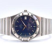 Omega Constellation Steel 35.5mm Blue
