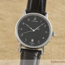Chronoswiss Steel Automatic Black 38mm pre-owned Kairos