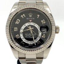 Rolex Sky-Dweller White gold 42mm Black Roman numerals