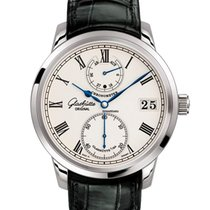Glashütte Original Senator Chronometer White gold 42mm Silver Roman numerals