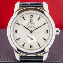 Omega Seamaster Gold/Steel 39mm Silver Arabic numerals