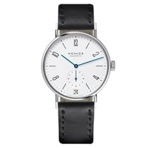 NOMOS Tangomat Datum Steel 38.3mm White United States of America, New Jersey, Englewood