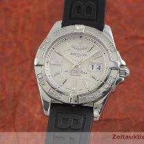 Breitling Galactic 41 Zeljezo 41mm Srebro