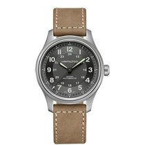 Hamilton Khaki Field Titanium Steel 42mm Green