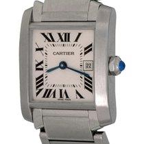Cartier Steel 25mm Quartz W51011Q3 pre-owned