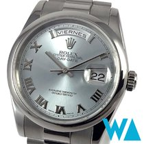 Rolex 118206 Platine 2003 Day-Date 36 36mm occasion