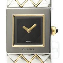 Chanel (シャネル) ゴールド/スチール 19mm クォーツ H0475 中古 日本, tokyo