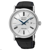 Seiko Premier Automatic Staal 40,6mm Wit