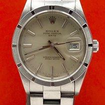 Rolex Oyster Perpetual Date Stahl 34mm Grau Keine Ziffern Österreich, Wien