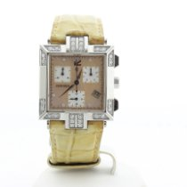 Concord La Scala Steel 30mm Mother of pearl No numerals