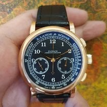 A. Lange & Söhne Rose gold 39.5mm Manual winding 414.031 pre-owned Singapore, Singapore