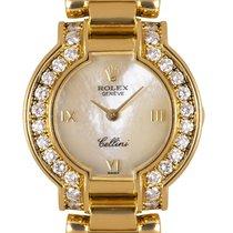 Rolex Cellini Yellow gold 26mm Mother of pearl Roman numerals United Kingdom, London