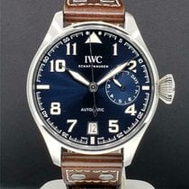 IWC Steel Automatic Blue 46mm pre-owned Big Pilot