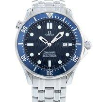 Omega Seamaster Diver 300 M Ocel 41mm Modrá