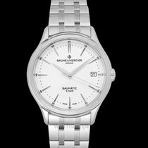 Baume & Mercier Clifton Steel 40mm White United States of America, California, Burlingame