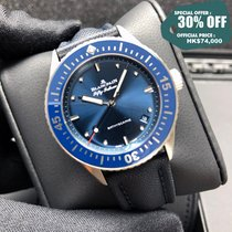 Blancpain Steel 38mm Automatic 5100-1140-O52A new