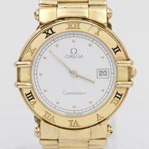 Omega Constellation Yellow gold 33,1mm White No numerals