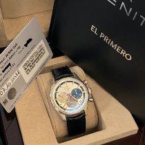 Zenith El Primero 36'000 VpH pre-owned Crocodile skin