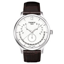 Tissot Tradition Acero 42mm Blanco España, MADRID