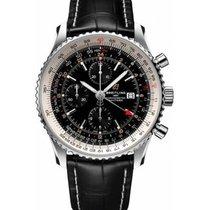 Breitling Navitimer GMT nuevo 2020 Automático Reloj con estuche y documentos originales A24322121B2P1
