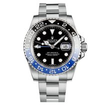 Rolex 116710BLNR Steel 2018 GMT-Master II 40mm pre-owned United States of America, New York, New York