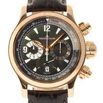 Jaeger-LeCoultre Master Compressor Chronograph Rose gold 41mm Black No numerals United States of America, New York, Greenvale