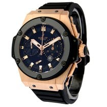 Hublot King Power Rose gold 48mm Black No numerals United States of America, New York, Greenvale