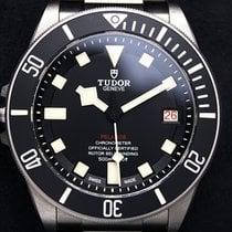 Tudor подержанные Автоподзавод 42mm Чёрный Сапфировое стекло 50 атм