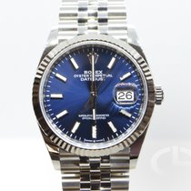 Rolex Datejust Acier 36mm Bleu Belgique, Bruxelles