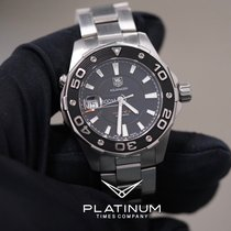 TAG Heuer Aquaracer 500M Steel 43mm Black No numerals United States of America, Texas, Laredo