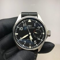IWC Big Pilot Stål 46mm Svart Arabisk
