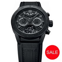 TAG Heuer Carrera Heuer-02T Titanium 45mm Black No numerals