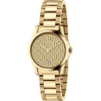 Gucci G-Timeless Ocel 27mm Zlatá