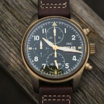 IWC Pilot Spitfire Chronograph new 2020 Automatic Chronograph Watch only IW387902
