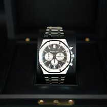 愛彼 Royal Oak Chronograph 鋼 41mm 黑色 無數字