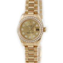Rolex Lady-Datejust Geelgoud 26mm