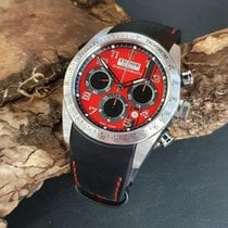 Tudor Fastrider Chrono Staal 42mm Rood