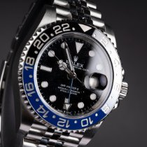 Rolex 126710BLNR-0002 Stahl 2020 GMT-Master II 40mm neu