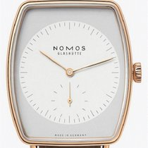 NOMOS Lux Rose gold 34mm White