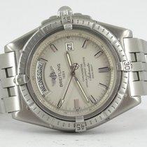 Breitling Headwind Steel Silver No numerals
