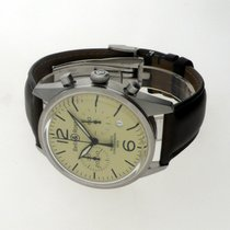 Bell & Ross Vintage Steel 41mm Champagne Arabic numerals