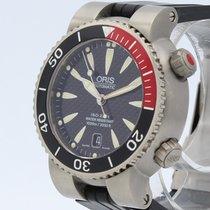 Oris Divers Titan Titanium 42mm Black No numerals