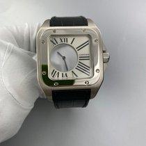 Cartier Белое золото Механические 42mm подержанные Santos (submodel)