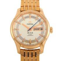 Omega De Ville Hour Vision nuevo Automático Reloj con estuche y documentos originales 431.60.41.22.02.001