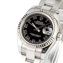 Rolex Lady-Datejust Stal 26mm Czarny