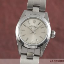 Rolex Oyster Perpetual Acero 24.5mm Plata